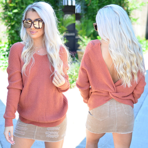 Just One Look Sweater- Mustard