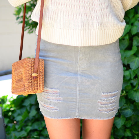 Kind Love Skirt- Camel