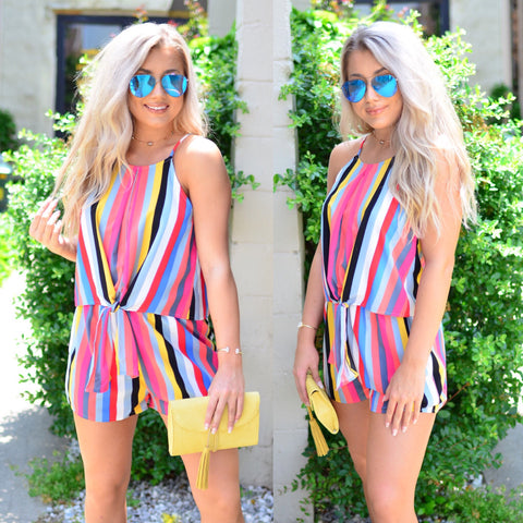 One Way or Another Romper