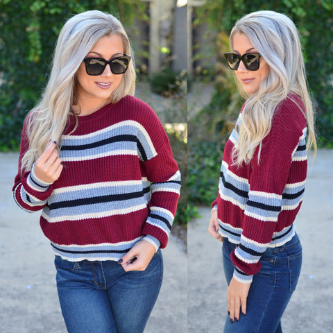 Perfect Plaid Top