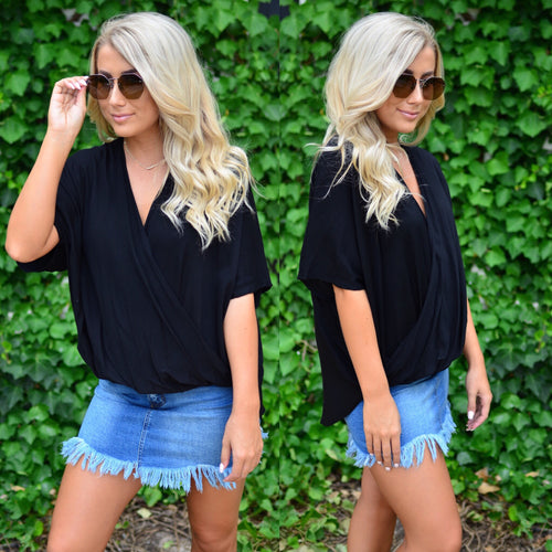 Draped In Perfection Top