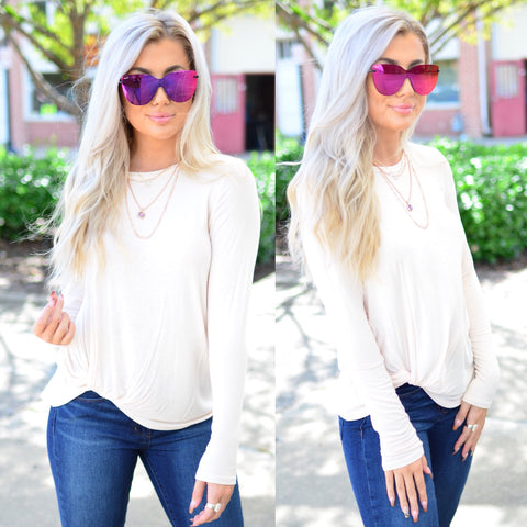 Enchanted Love Top-Blush