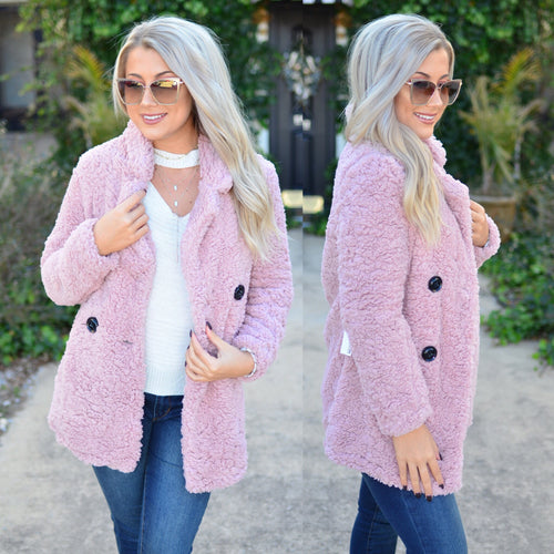 Full of Love Jacket- Blush