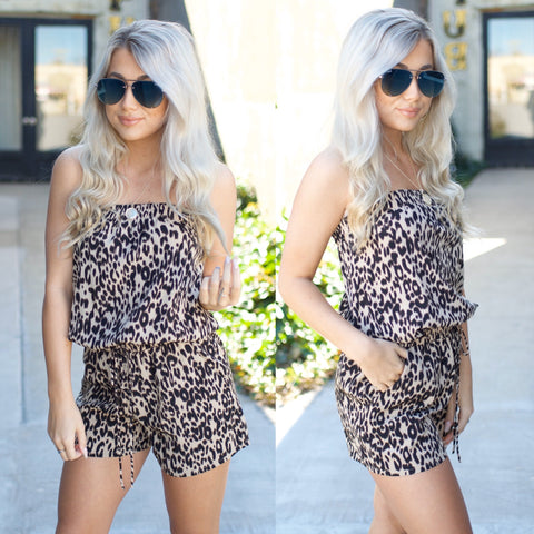 Take Me Out Romper