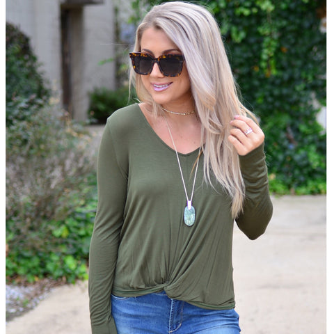 Perfectly Basic Top- Teal