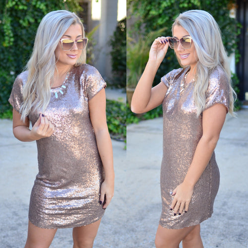 Starlight Dress- Gold