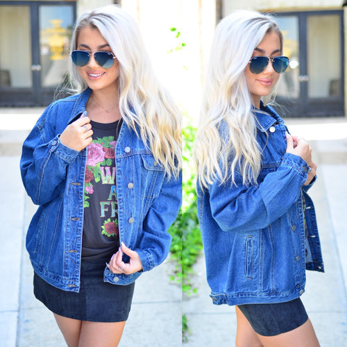 Find A Way Denim Jacket