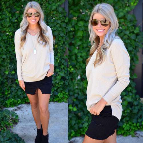 Perfect Sweater-Cream
