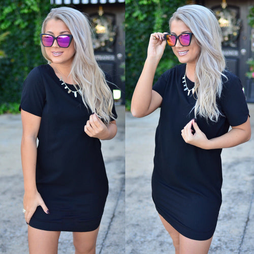 City Lights Dress- Black