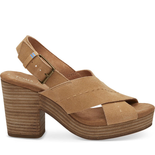 Honey Suede Women's Ibiza Sandals