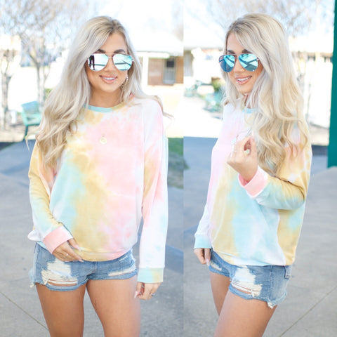 Wonderful Watercolor Top