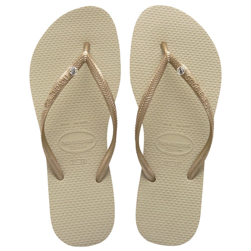 Havaianas-Sand Gold Crystal Glamour