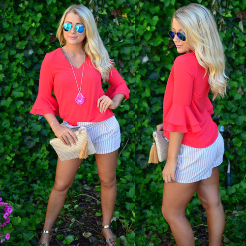 Perfectly Coral Top