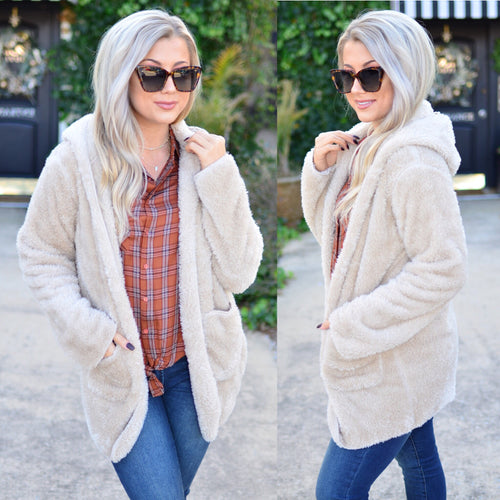Give It Your All Sweater -Taupe