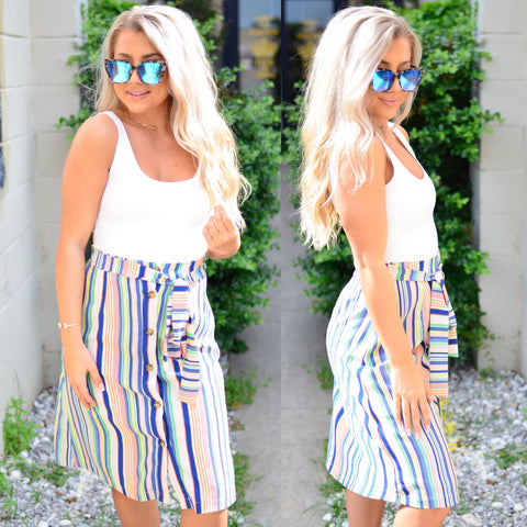 Chic Stripe Pant