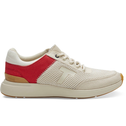 Arroyo Red/Birch Canvas Sneaker