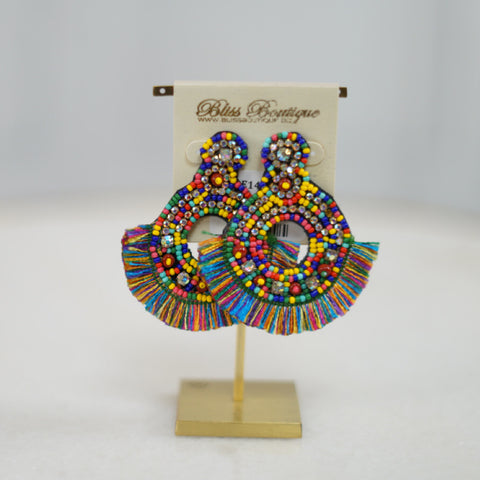 Abalone Love Earring