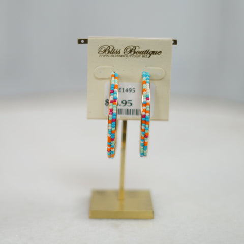 Beaded Babe Earring