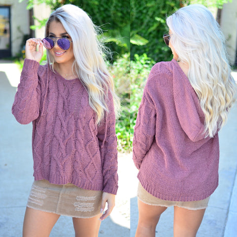 Twilight Embrace Sweater- Toffee