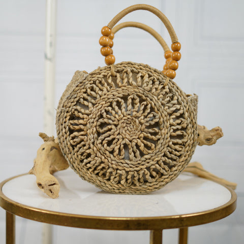 Seashell Round Handbag