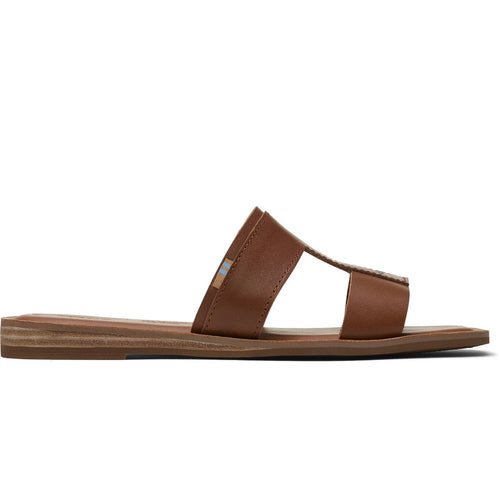 Tan Vegetable Tanned Leather Women's Seacliff Sandals