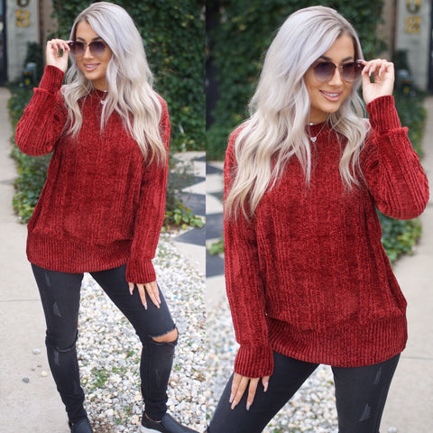 Meant To Be Sweater-Mocha