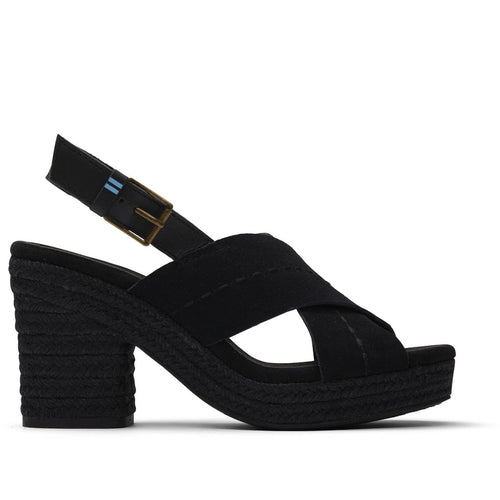 Black Suede Vegetable Tanned Leather Women's Ibiza Sandals