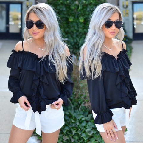 Perfect Tunic- Black