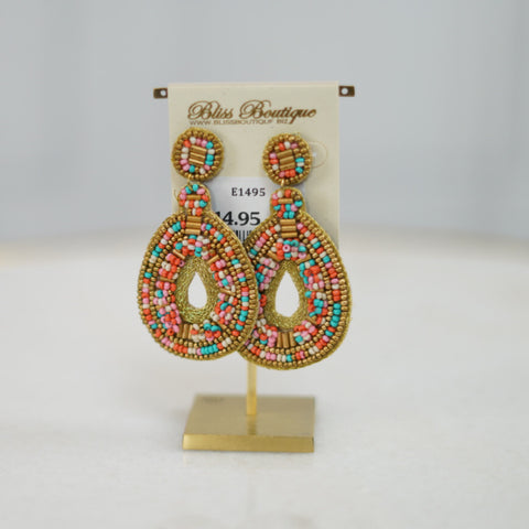 Boho Love Earring