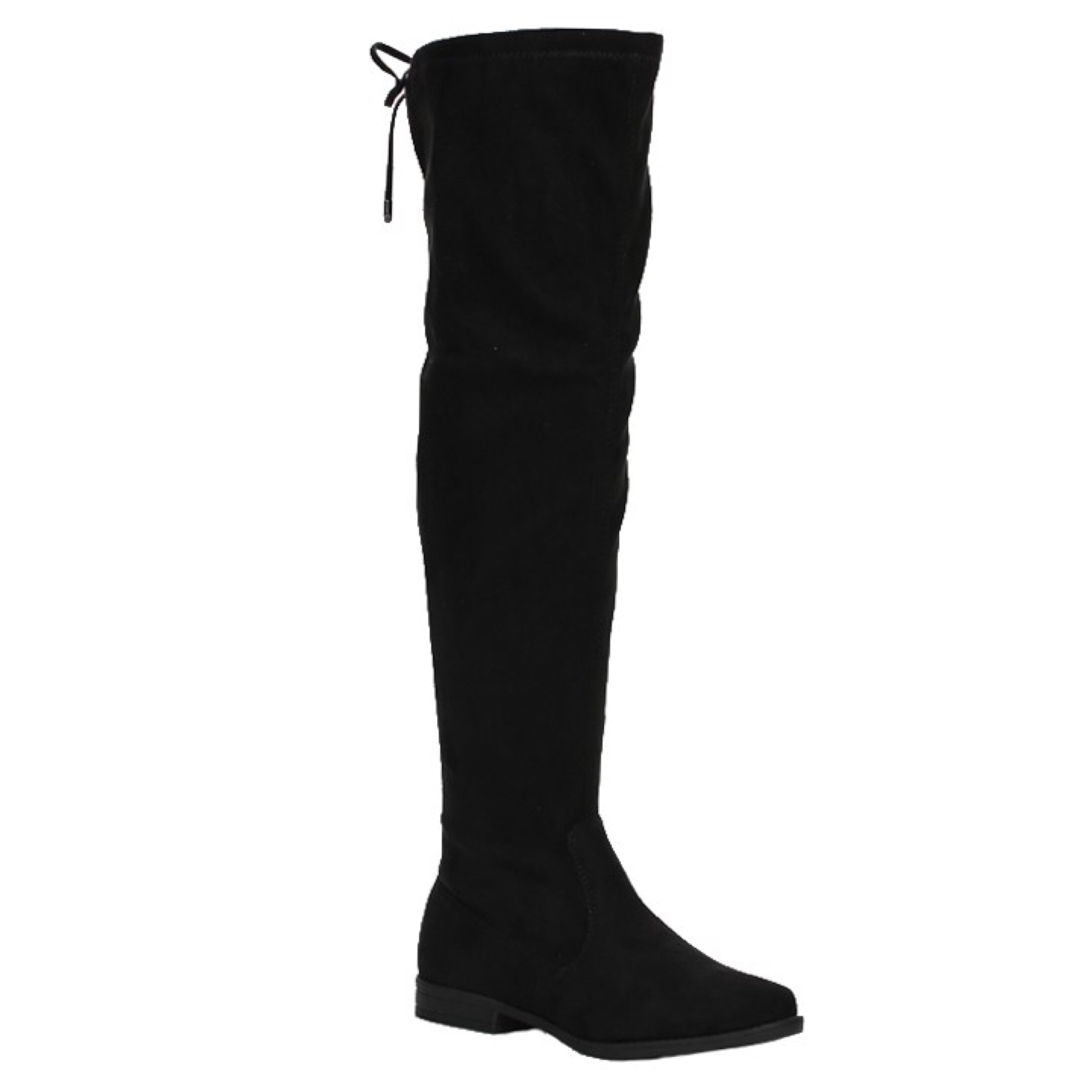 City Chic Knee High Boots-Black