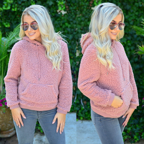 Wonderful Winter Pullover- Mocha