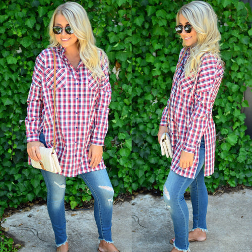 Checked Out Tunic