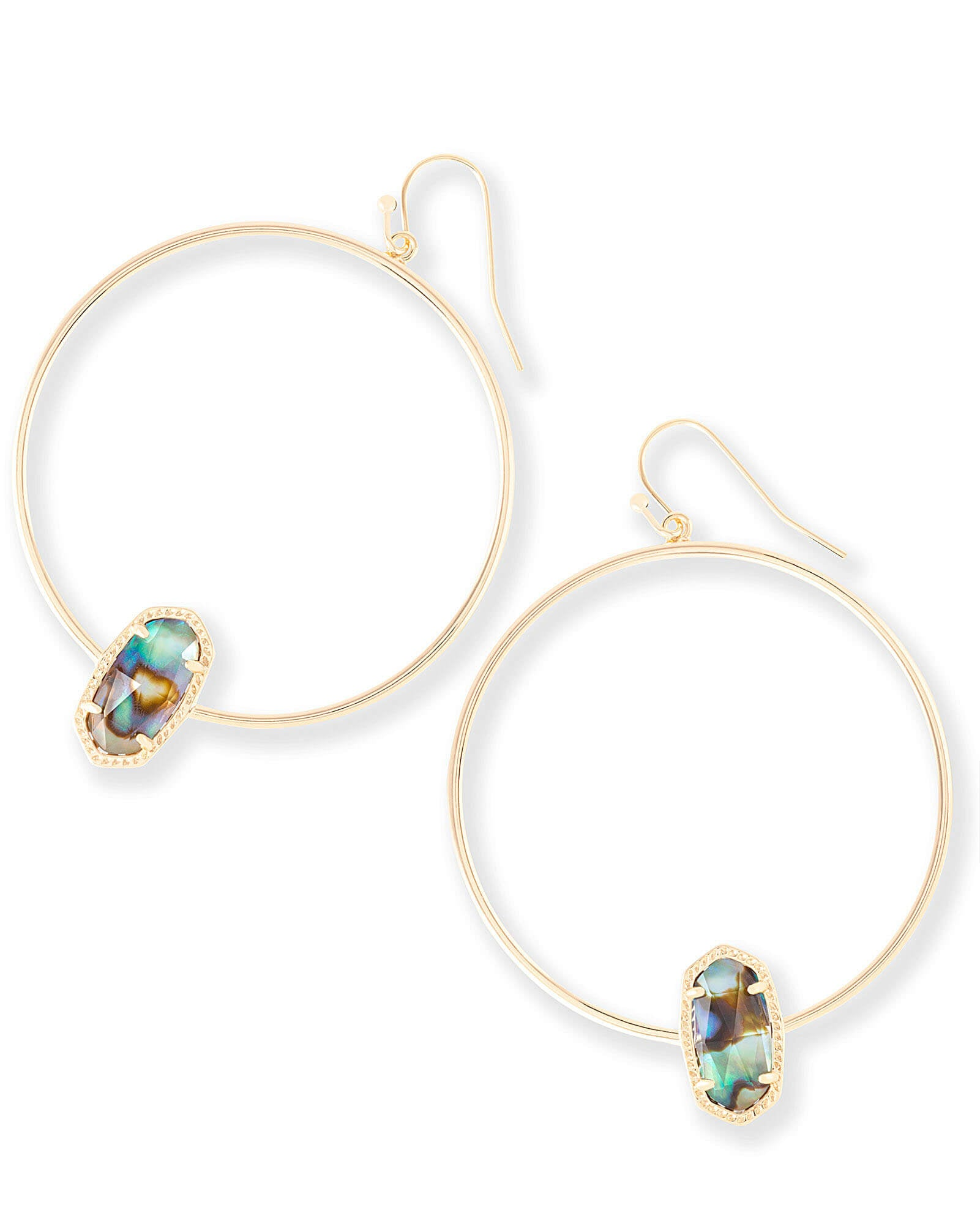 lg scott default jewelry jewellery in elora earrings categories drusy iridescent gold kendra hoop