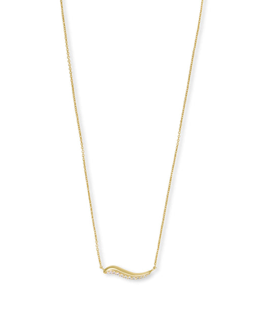Jagger Pendant Necklace in Gold