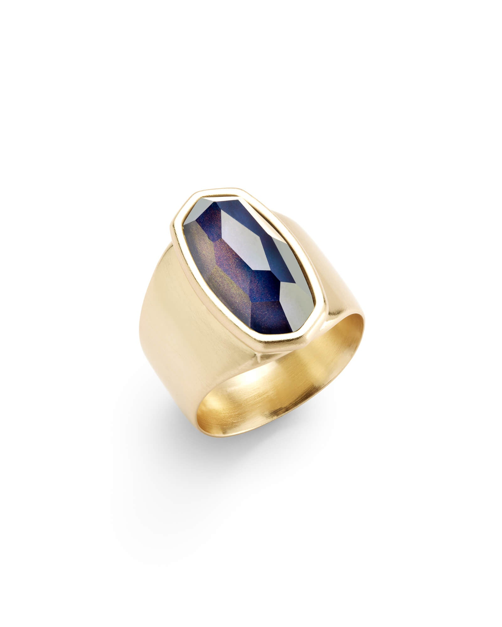 Leah Mood Ring in Gold