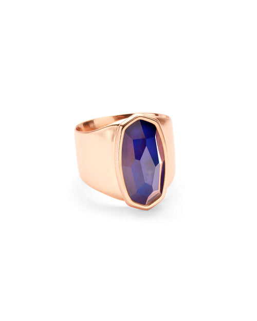 Leah Mood Ring in Rose Gold