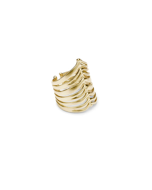Liv Cocktail Ring in Gold