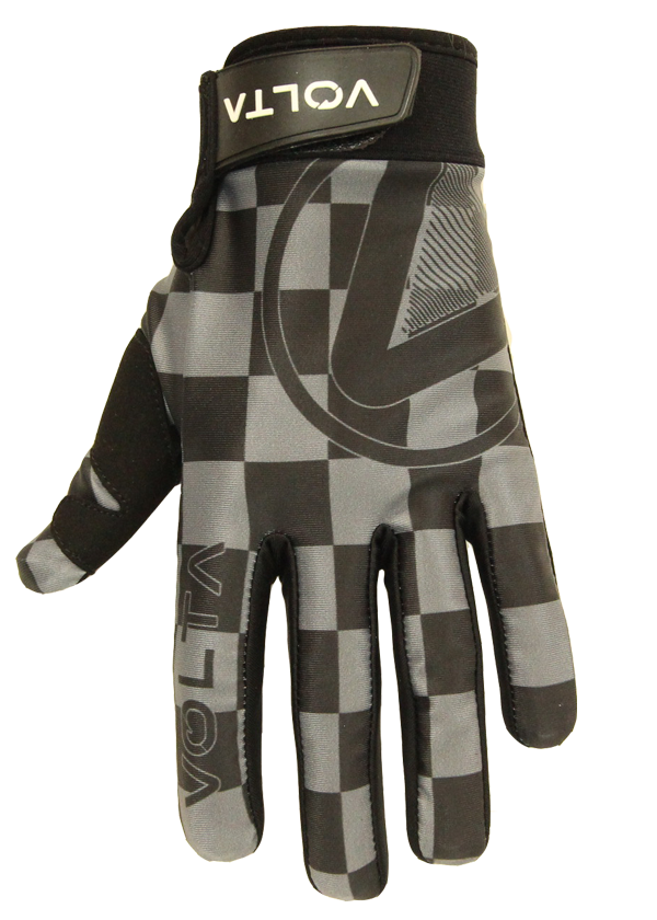 Black/Grey Checker Glove