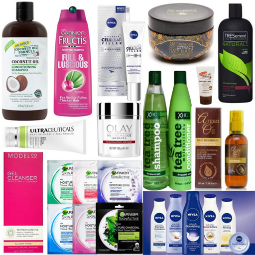 MONEY SAVING BUNDLE DEAL! BOX OF PREMIUM BEAUTY PRODUCTS & VALUE PACK OF ASSORTED FACE MASKS