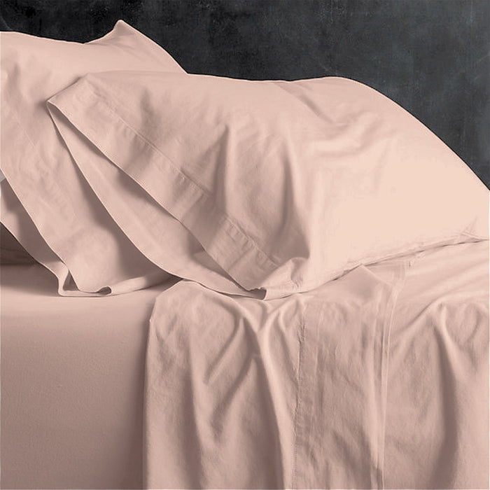 Park Avenue European Vintage Washed Cotton Sheet Sets