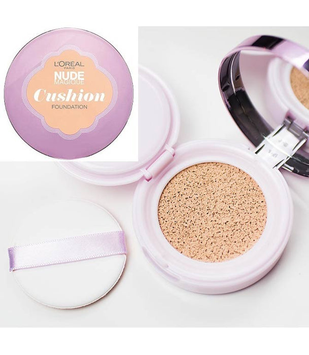 LOREAL NUDE MAGIQUE CUSHION FOUNDATION PACK 5|10|50