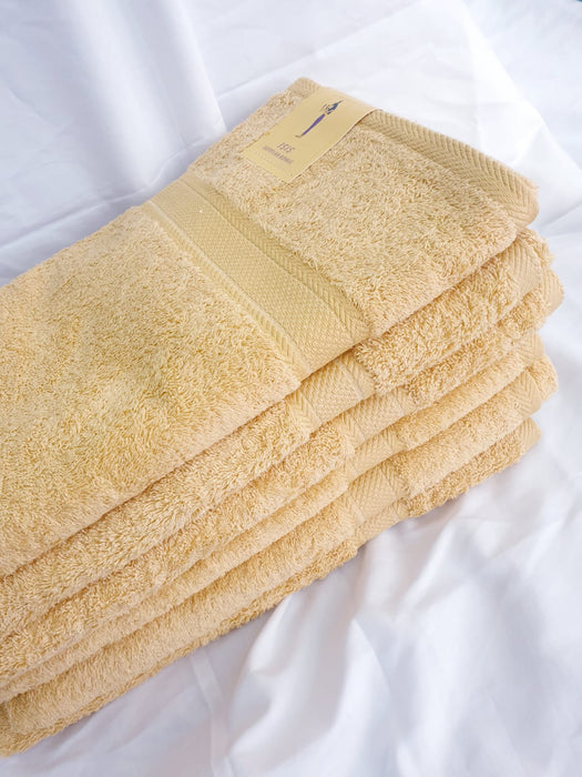 PACK OF 6 OR 12 EGYPTIAN COTTON BATH TOWELS 650GSM
