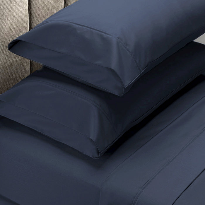 500 TC 100% Premium Cotton Sheets & Pillowcases Set