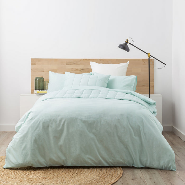 Park Avenue Paradis washed Chambray Quilt Cover set
