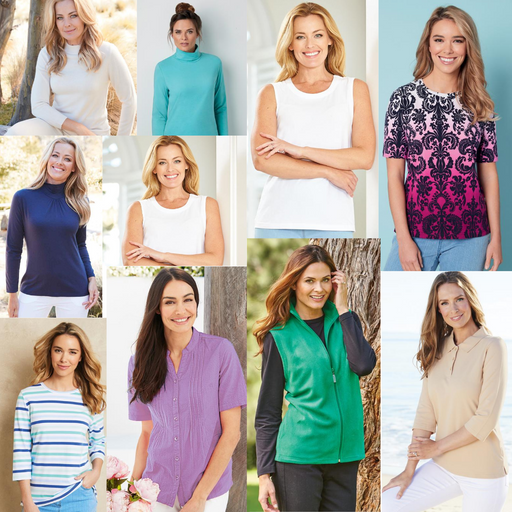 AMAZING MYSTERY CLOTHING PACK FOR WOMEN 10|20|30 TOPS