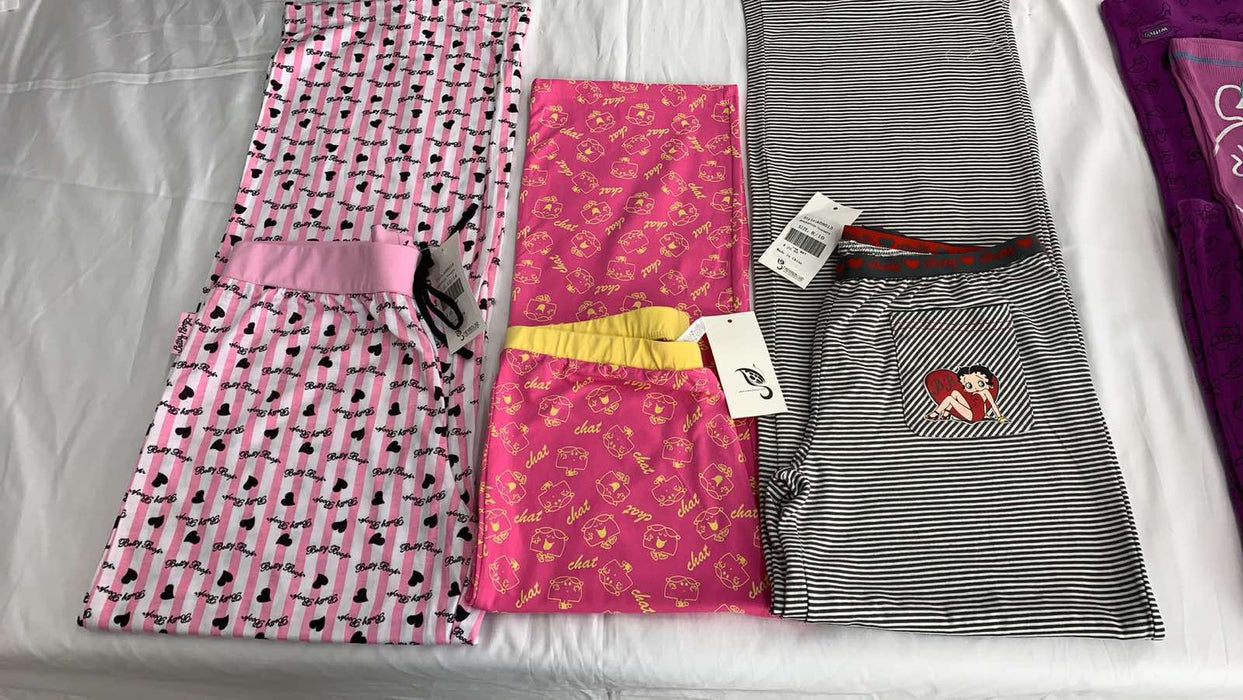 PACK OF 5 ASSORTED COMFY COTTON PYJAMA BOTTOMS