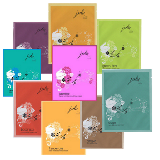 VALUE PACK OF 20 ASSORTED TU ES JOLIE FACE MASKS