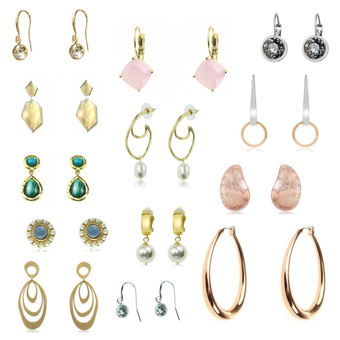 Department store premium earrings pack