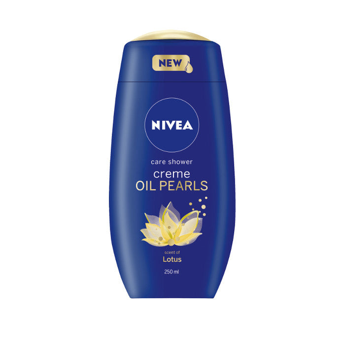 Nivea Creme & Oil Pearls Shower Cream Lotus Pack Of 3|6