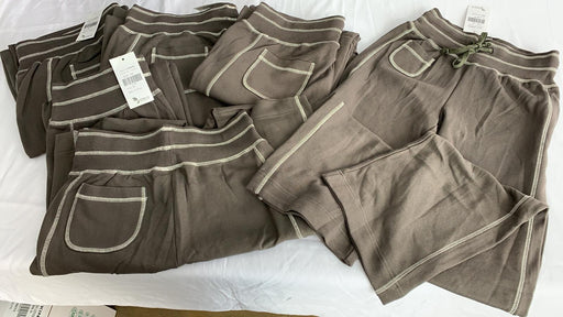 LOT OF 5 QUALITY LADIES COTTON TRACKSUIT PANTS